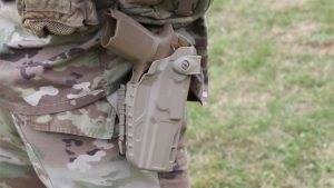 army m17 pistol holster empty