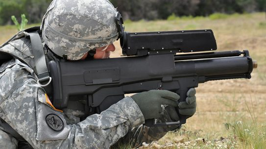 army xm25 weapon shoulder fire