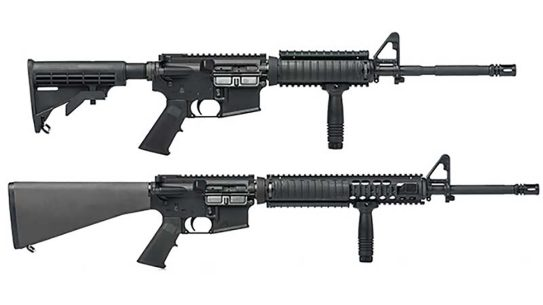brownells m4 carbine m16a4 rifle