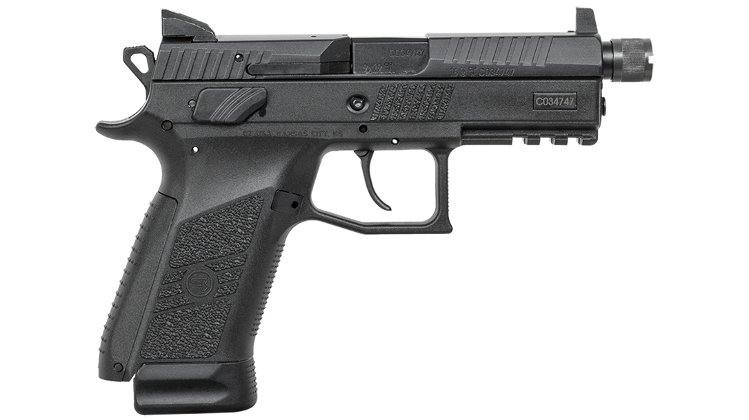 CZ P-07 Suppressor Ready pistol right profile