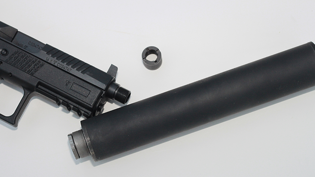 CZ P-07 Suppressor Ready pistol barrel