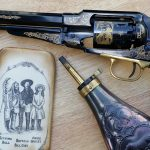 EMF 1858 Buffalo Bill Commemorative revolver