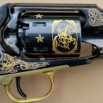EMF 1858 Buffalo Bill Commemorative revolver cylinder
