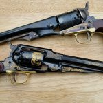 emf, 1858, buffalo bill commemorative, revolvers