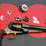 emf, 1858, buffalo bill commemorative, revolver, target