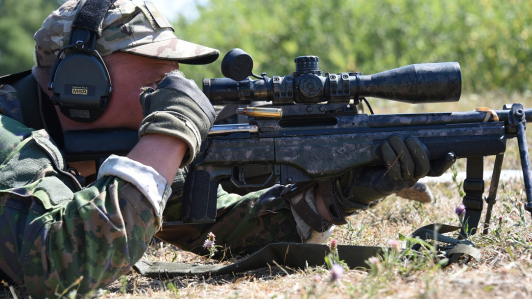 europe best sniper competition Finnish soldier