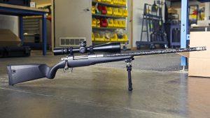 Gunwerks ClymR rifle beauty shot