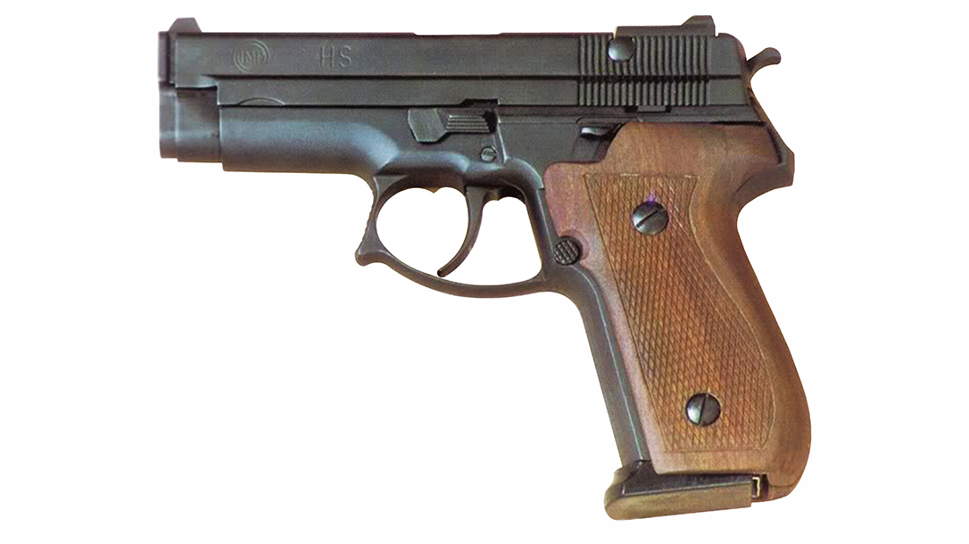 croatia hs 95 pistol left profile