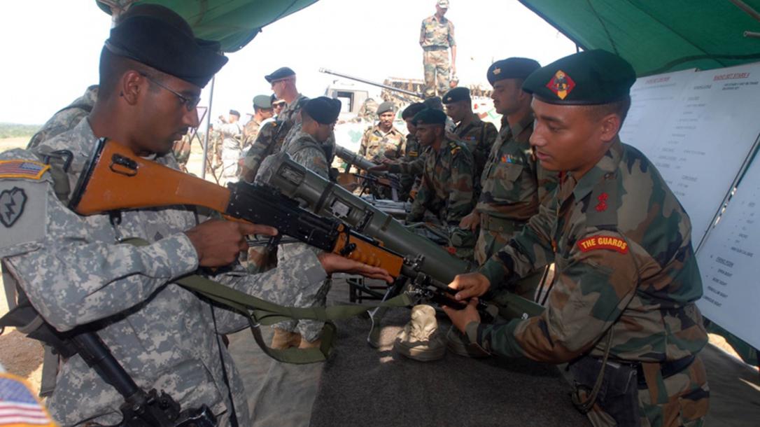 india, india rifles, india rifle, india light machine gun, india light machine guns, light machine guns demonstration