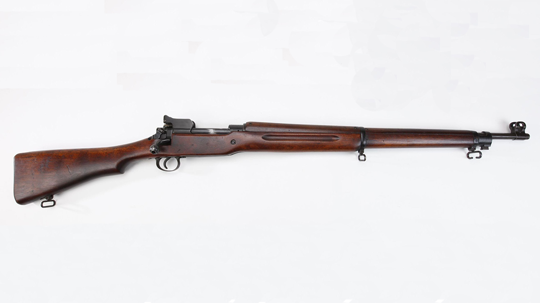 M1917, M1917 Enfield, M1917 Enfield rifle, M1917 Enfield rifle right profile
