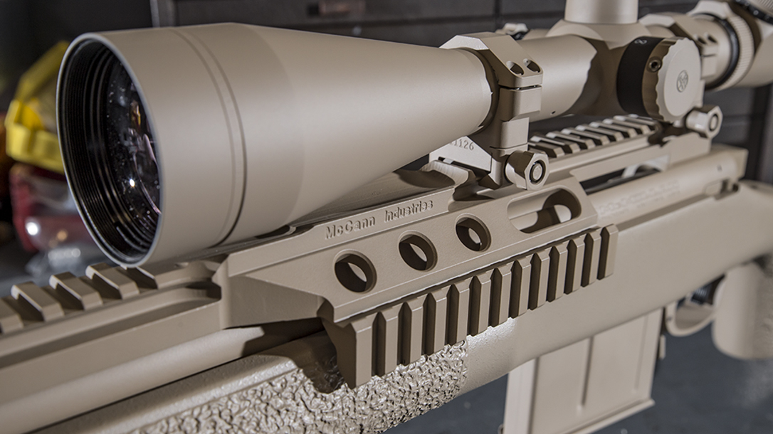 mcmillan TAC-338 Chris Kyle rifle rail scope