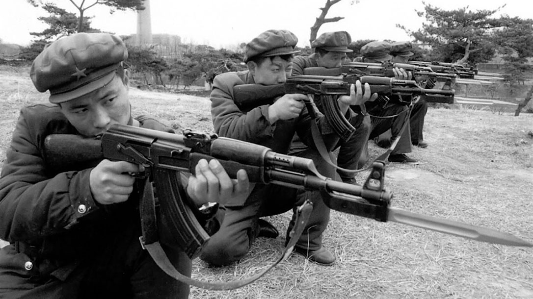 north korea ak, north korea, north korea ak type 58, north korea ak type 58 soldiers