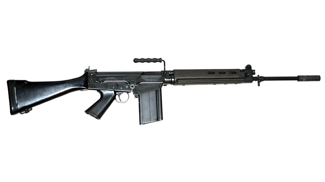 fn, fn fal, fn fal rifle, fn fal rifle right profile