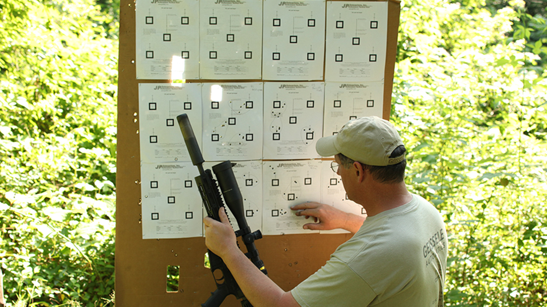 Remington R5 RGP rifle target