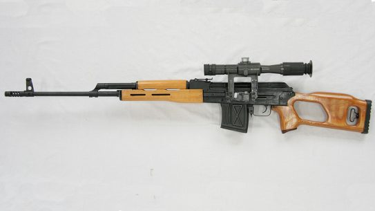 romanian psl rifle left profile