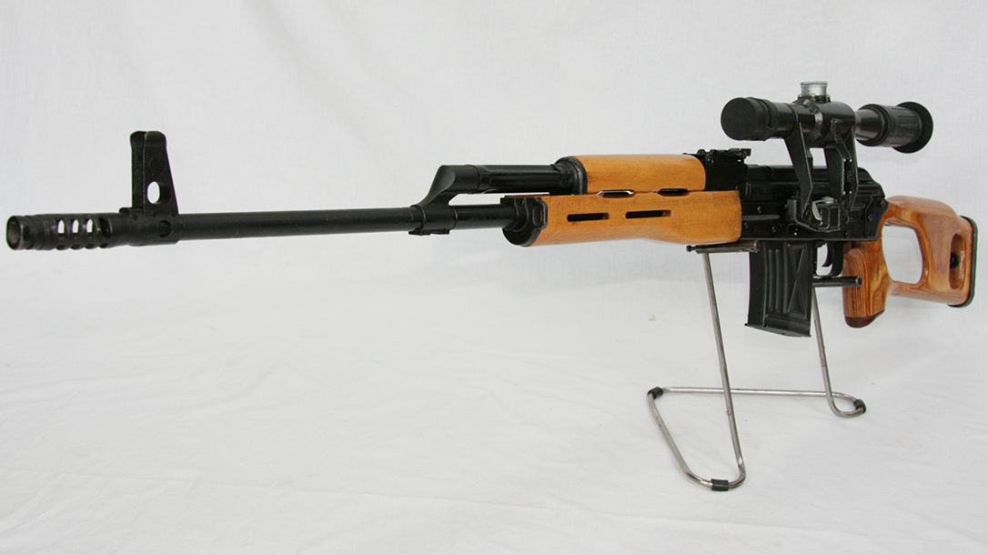 romanian psl rifle left angle