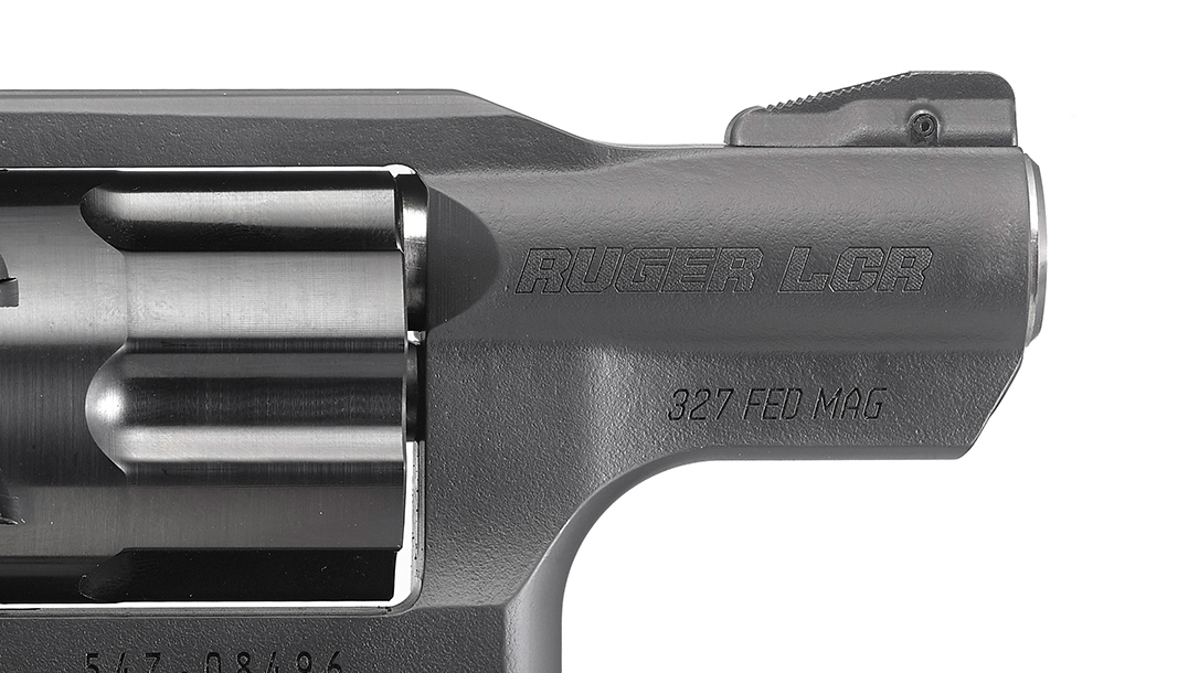 ruger, ruger lcr, ruger lcr 327, ruger lcr 327 federal magnum, ruger lcr revolver barrel