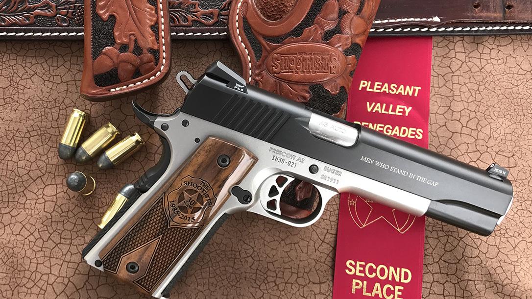 ruger, ruger 1911, ruger sr1911, ruger sr1911 pistol SASS match