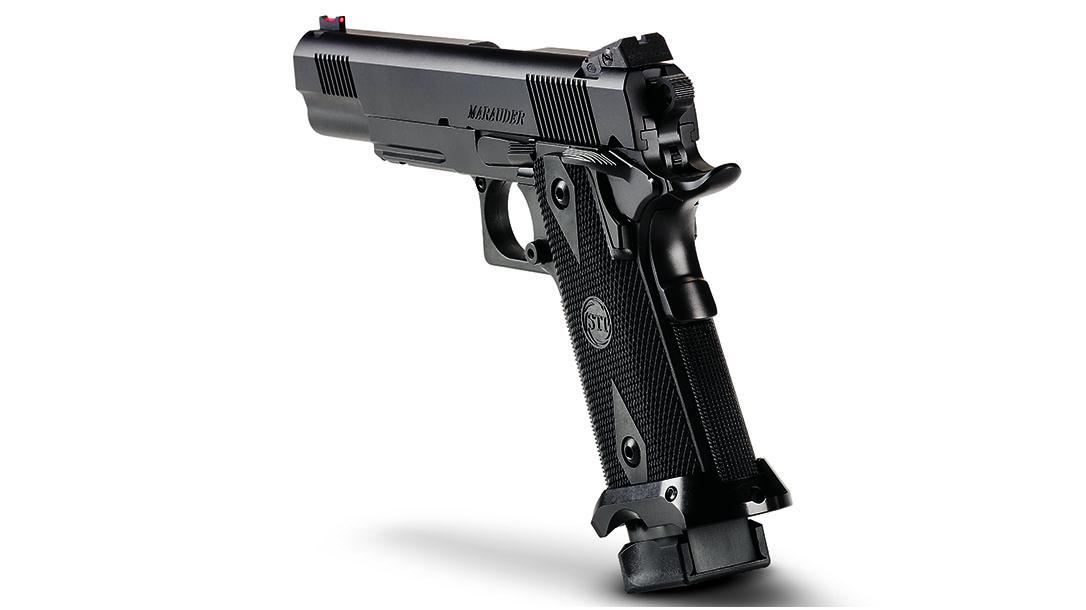 STI, STI pistol, STI Marauder, STI Marauder pistol, STI Marauder grip frame