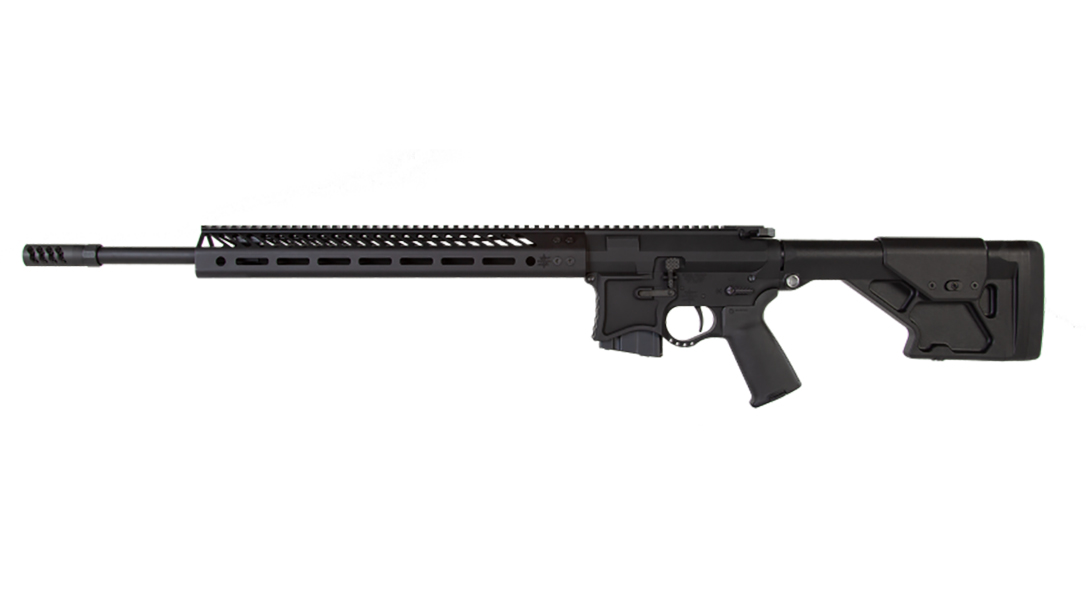 Seekins VKR20 224 valkyrie rifle left profile