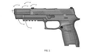 SIG Integral Eccentric Firearm Silencer left profile