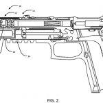 SIG Integral Eccentric Firearm Silencer drawing