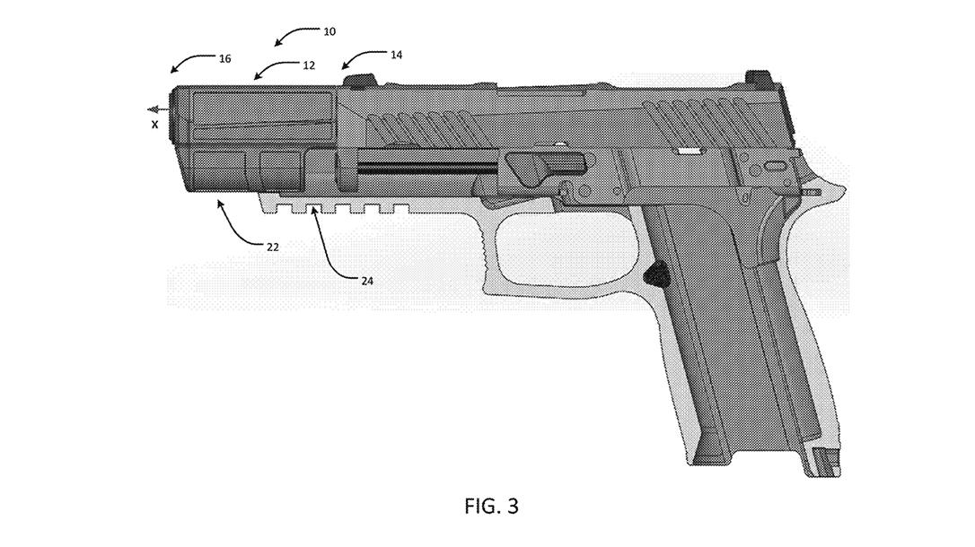 SIG Integral Eccentric Firearm Silencer profile new view