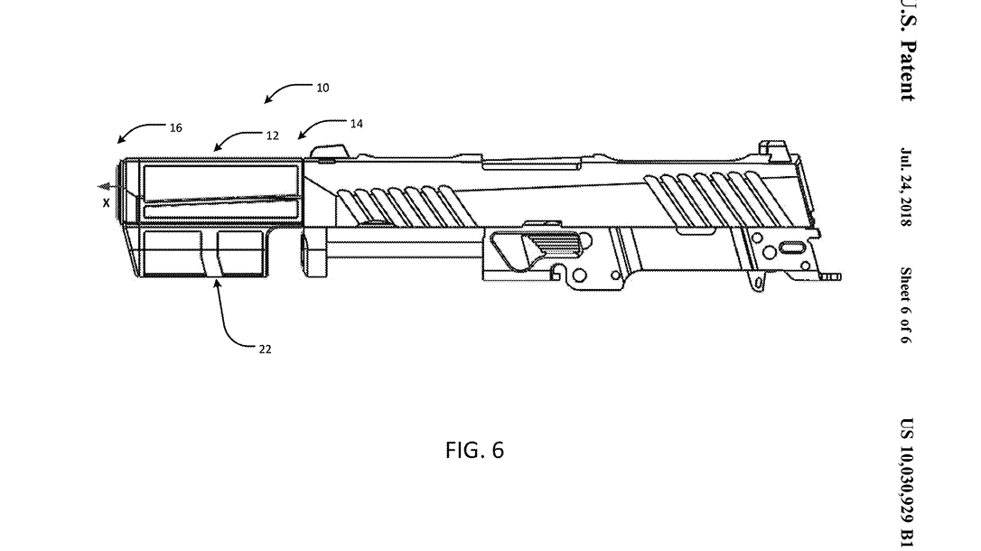 SIG Integral Eccentric Firearm Silencer slide