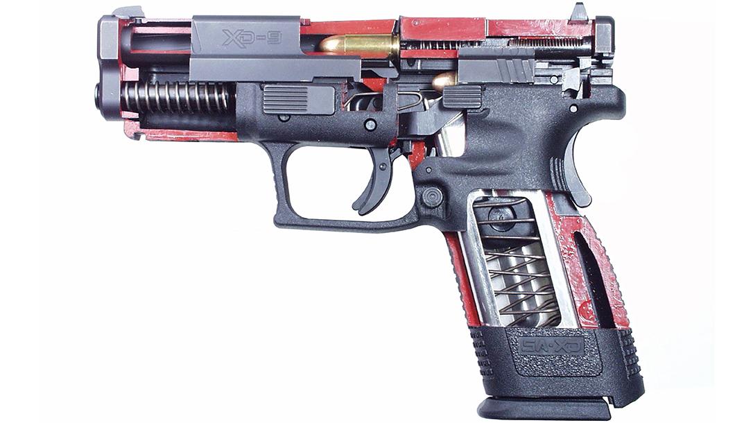 springfield xd pistol internals