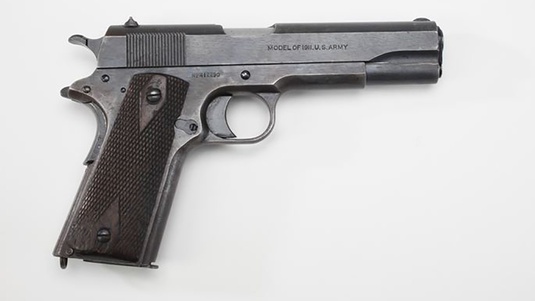 surplus 1911, 1911, 1911 pistol, 1911 pistol right profile