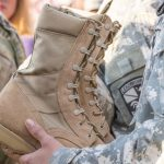 military boot, wellco military boot, cadet military boot