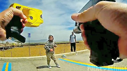 utah shooting taser