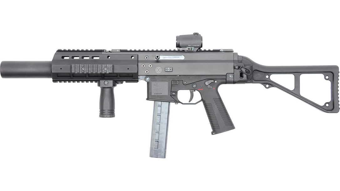 sub compact weapon, sub compact weapons, army sub compact weapon, B&T APC9SD