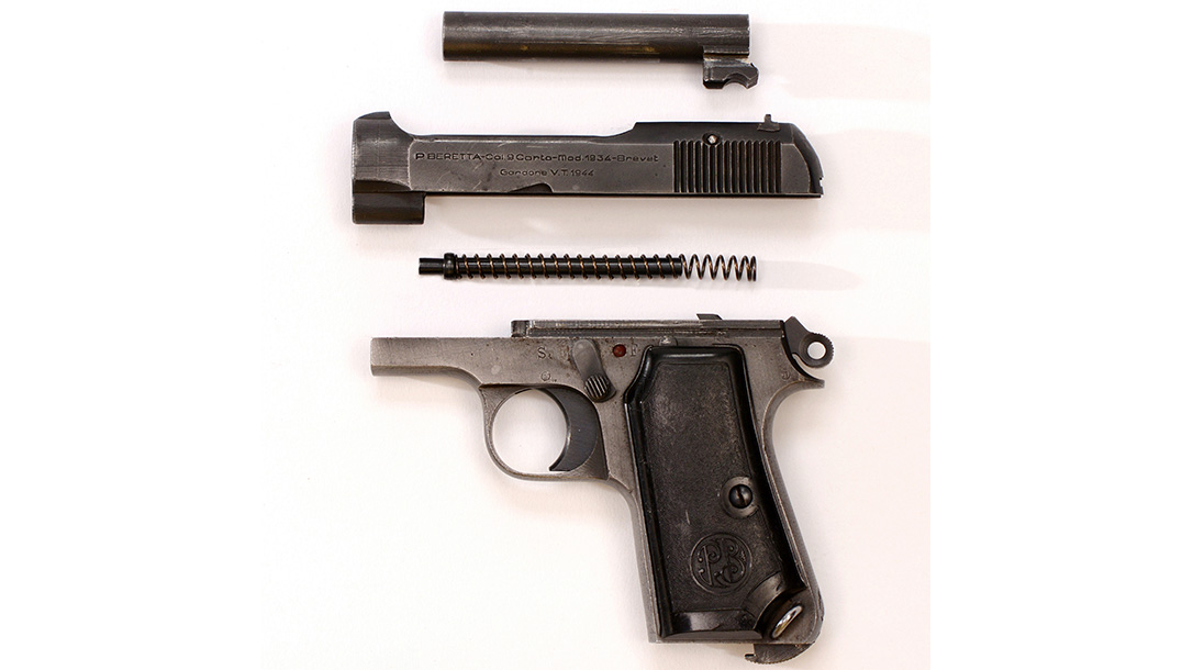 beretta, beretta 1934, beretta model 1934, beretta 1934 pistol, beretta model 1934 pistol, beretta model 1934 pistol disassembled