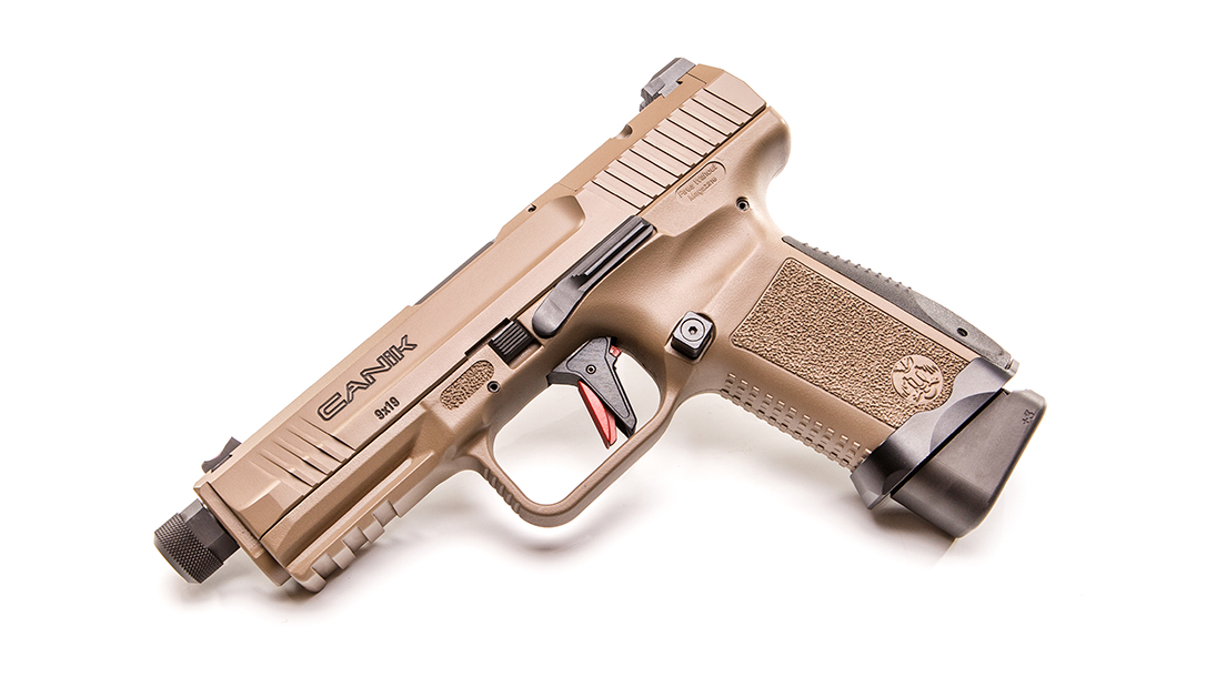 the canik tp9 elite combat pistol is now shipping