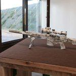 Kalashnikov SVCh-308, SVCh-308 rifle, SVCh-308 rifle left profile