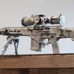 Kalashnikov SVCh-308, SVCh-308 rifle, SVCh-308 rifle rear angle