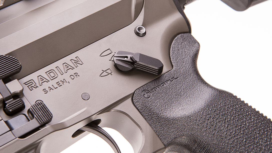 radian firearms, radian model 1, radian model 1 rifle, radian model 1 rifle safety selector