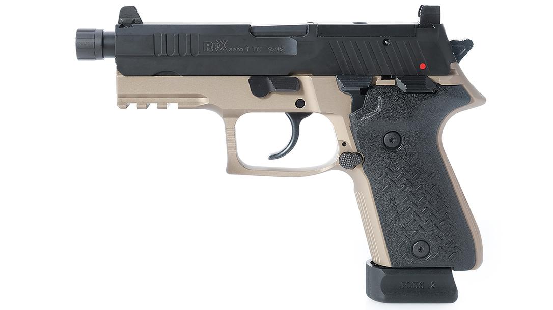 rex zero 1, rex zero 1 tactical compact, rex zero 1 tactical compact pistol, rex zero 1 tactical compact pistol fde