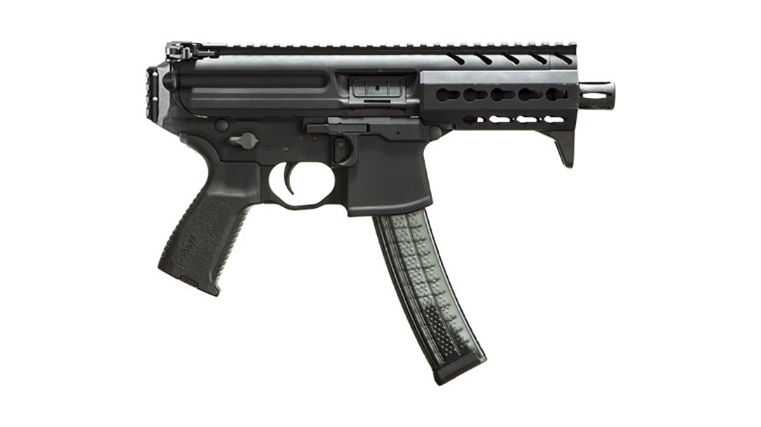 sub compact weapon, us army sub compact weapon, SIG MPX K submachine gun