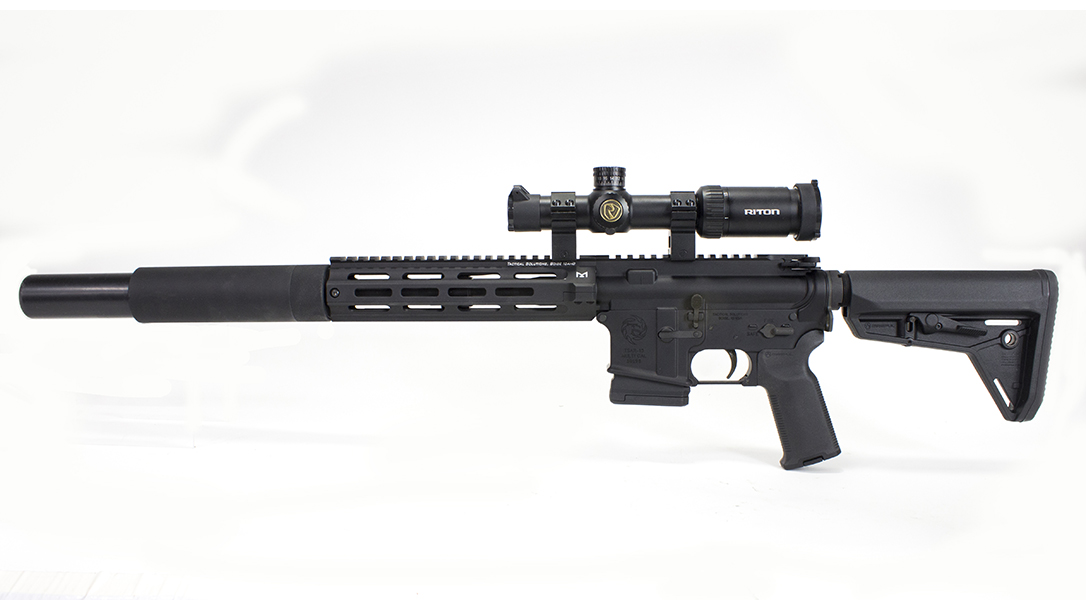 tactical solutions, tactical solutions TSAR-300 rifle, TSAR-300, TSAR-300 rifle, tactical solutions TSAR-300 rifle left profile