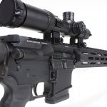 tactical solutions, tactical solutions TSAR-300 rifle, TSAR-300, TSAR-300 rifle, tactical solutions TSAR-300 rifle rear angle
