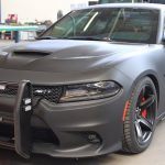 Armormax Bulletproof Dodge Charger Hellcat Police Car exterior