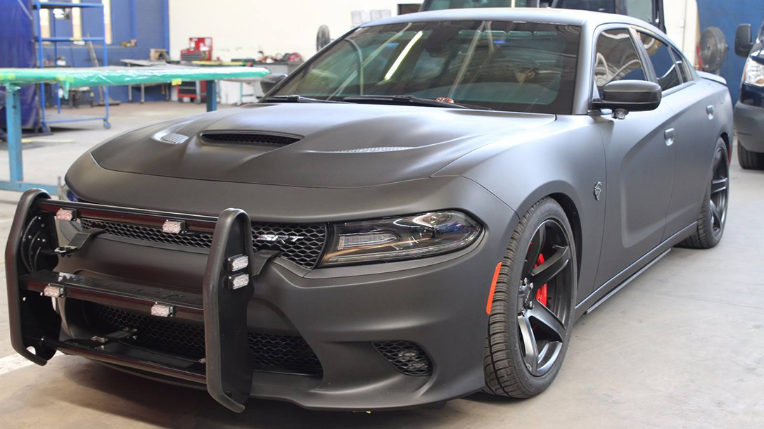 New 300 Chrysler 2016 >> The Bulletproof Dodge Charger Hellcat Police Car Is Here and It's Amazing