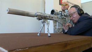 vladimir putin, vladimir putin sniper rifle, vladimir putin SVCh-308, SVCh-308, SVCh-308 kalashnikov