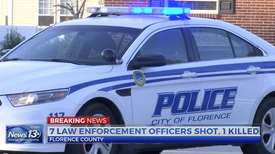 Florence officers shot