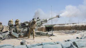 U.S. Army M777 Howitzer, Afghanistan, 155mm