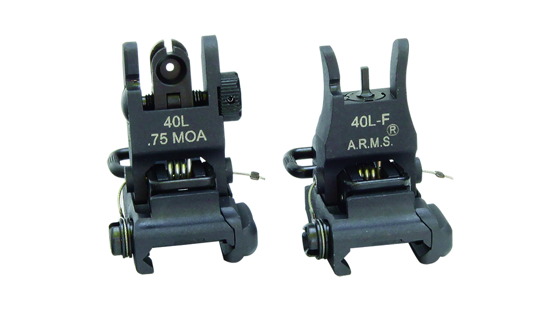Backup Iron Sights, AR Rifle, ARMS #40L-F/#40L Combo