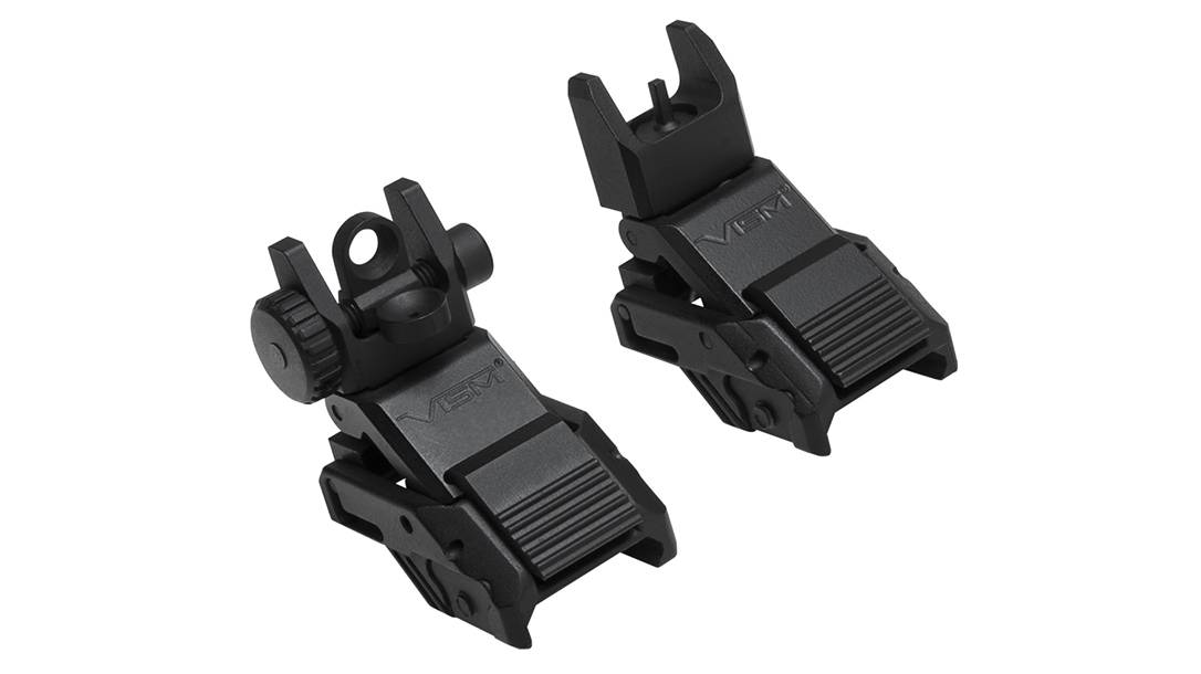 Backup Iron Sights, AR Rifle, NcSTAR Pro Series Flip-Up Sights