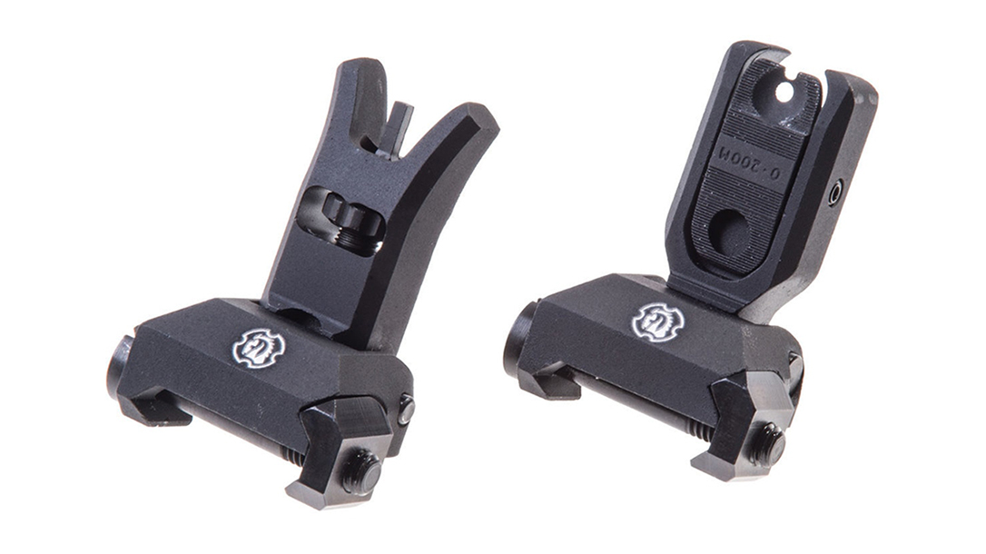 Backup Iron Sights, AR Rifle, Troy SOCC BattleSights